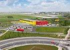 Lotnisko Chopina. Powstanie nowy terminal dla kurierów DHL [WIZUALIZACJE]