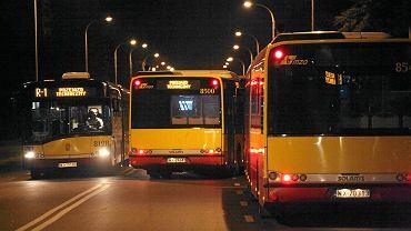 Autobusy komunikacji miejskiej w Warszawie