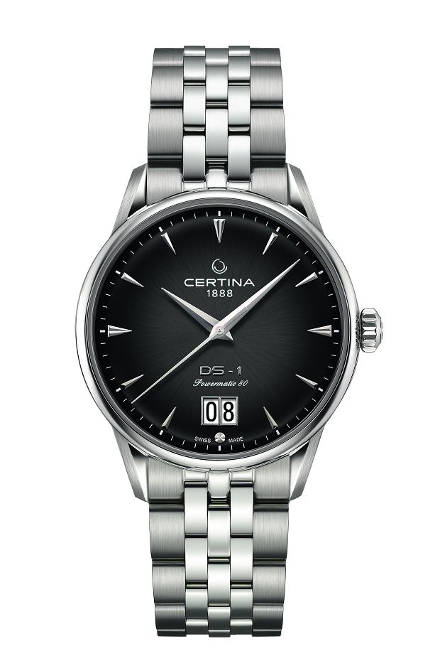 Certina DS-1 Big Date grafitowa