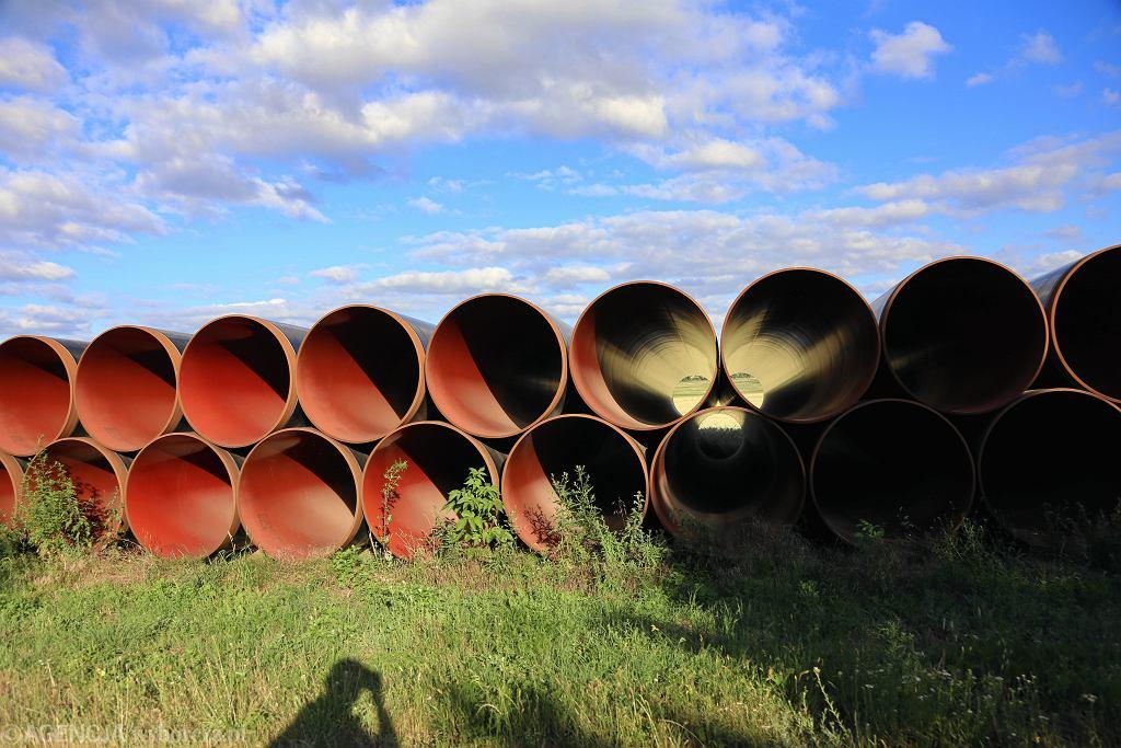 Budowa gazociągu (zdjęcie ilustracyjne)