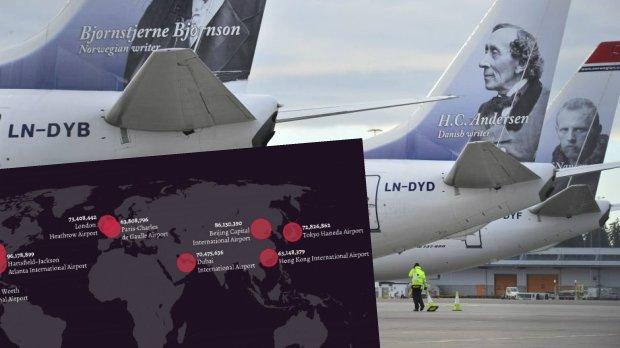 10 najbardziej ruchliwych lotnisk na świecie