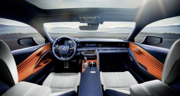 Lexus LC500 i LC500h