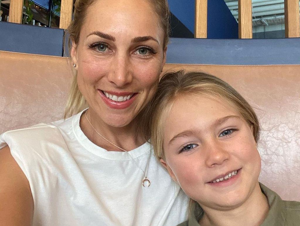 Shan Cooper z córką