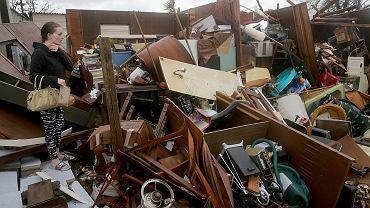 Floryda po przejściu huraganu Michael, 10.10.2018