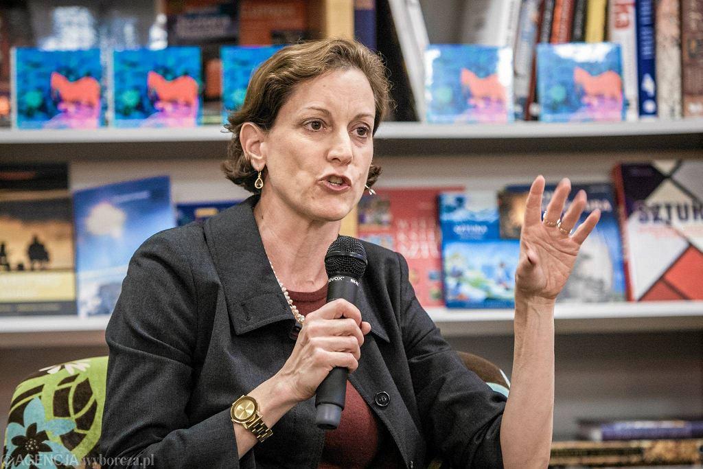 Anne Applebaum promuje swoją nową książkę