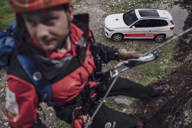 Startuje #jestemzgor - ogólnopolska akcja crowdfundingowa GOPR i BMW na sprzęt i szkolenia dla ratowników