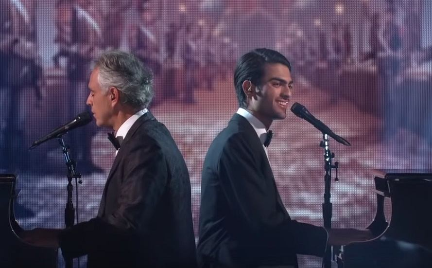 Andrea Bocelli & Matteo Bocelli Performance - Dancing with the Stars