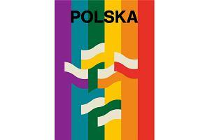 """""""Tęcza nie obraża"""". Polscy ilustratorzy bronią praw LGBTQ i dzielą się tęczowymi plakatami"""