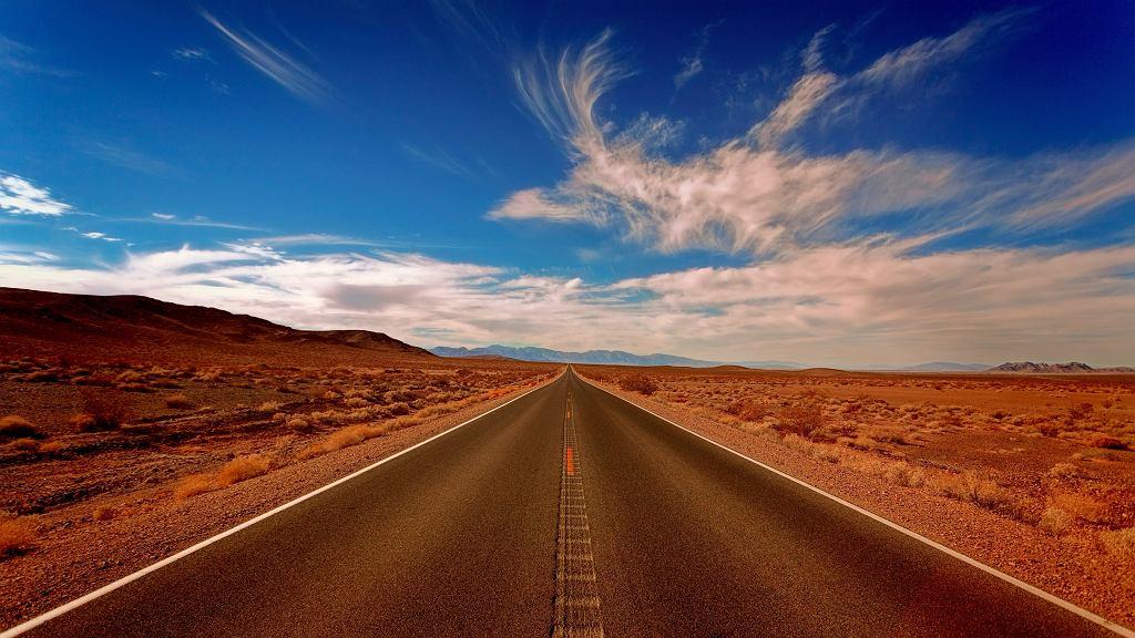 Dolina Śmierci to najgorętsze miejsce na Ziemi.