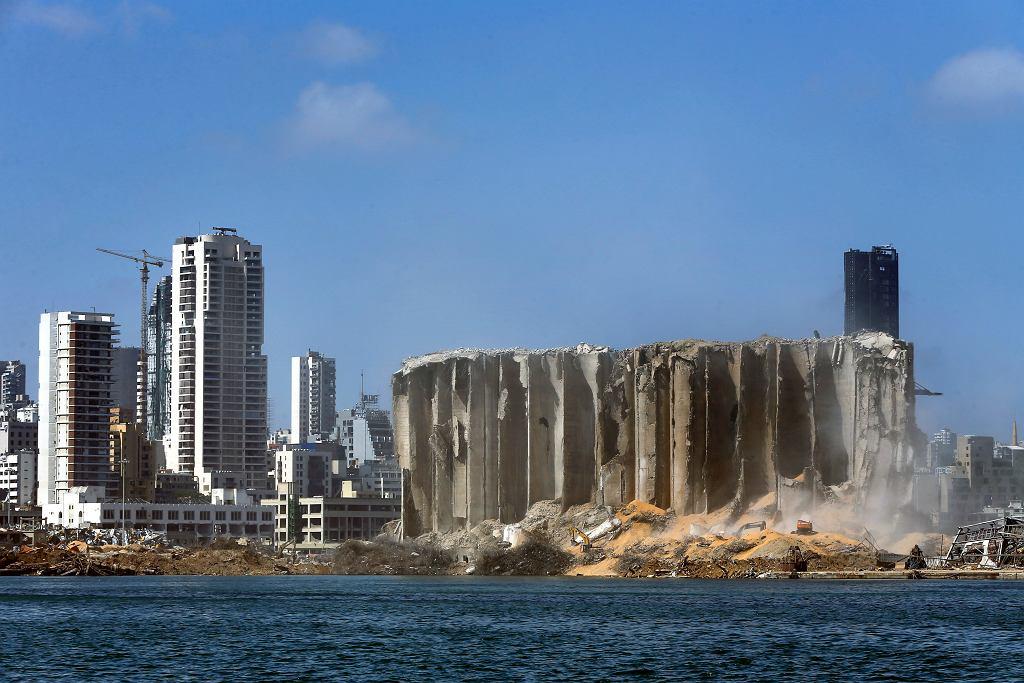 Eksplozja w Bejrucie