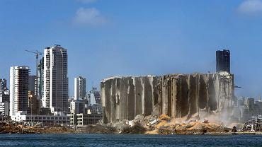 Wybuch w Bejrucie. Skutki tragedii widoczne są z kosmosu [ZDJĘCIA]