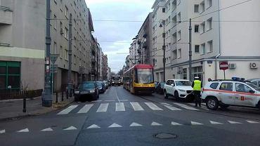 Praga-Północ. Kierowca zablokował ruch tramwajów