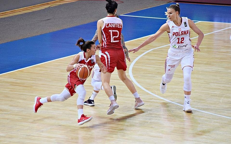 W kwalifikacjach do Eurobasketu 2019 polskie koszykarki przegrały u siebie z Turcją 49:68