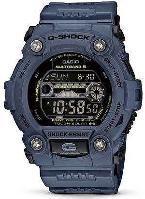 Poradnik: jak się ubrać na podróż?, podróż, wakacje, moda męska, zegarki, Zegarek z kolekcji Casio G-Shock model GW-7900NV-2ER, cena: 750 zł, casio