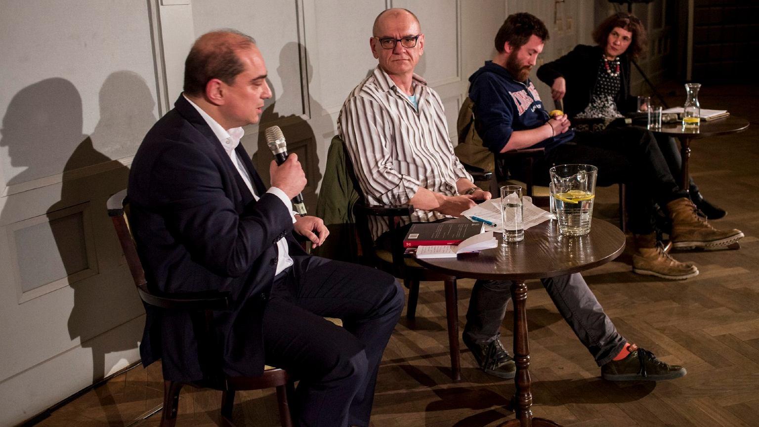 Debata o uchodźcach z udziałem Dariusza Rosiaka - Kraków, 2016 rok