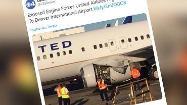 USA: Poważna awaria samolotu United Airlines (zdjęcie ilustracyjne)