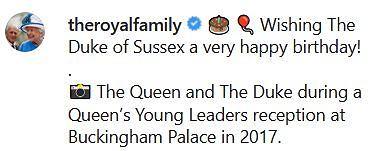 Książę Harry świętuje urodziny