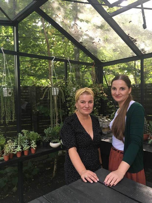 Katarzyna Szczerbowska i Anna Panufnik, rzecznik praw pacjenta psychiatrycznego.