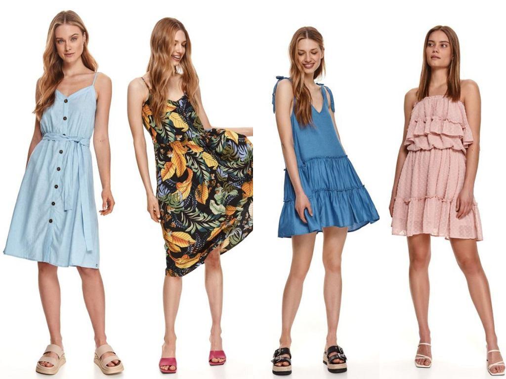 Top Secret sukienki na ramiączkach