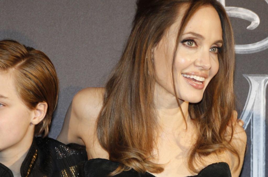 Angelina Jolie dziećmi
