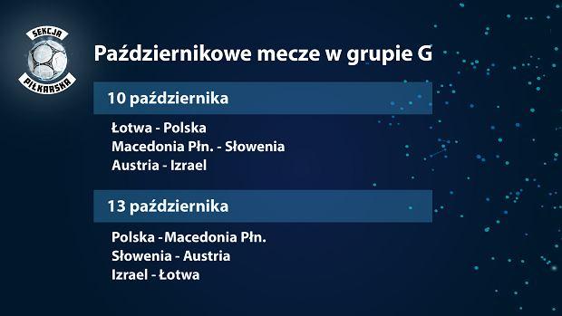 Październikowe mecze w grupie G