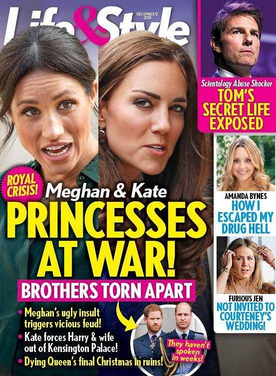 Wojna Kate i Meghan