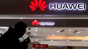 Salon Huawei w Pekinie.