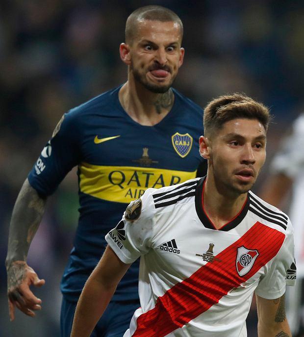 Zdjęcie numer 5 w galerii - River Plate pokonuje Boca Juniors po dogrywce! Bramkarz grający na połowie rywali nie pomógł