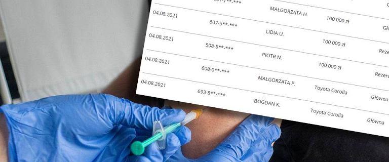 Loteria szczepionkowa. Wyniki już są! Sprawdź, kto wygrał samochód