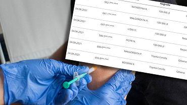 Loteria szczepionkowa - wyniki losowania z 4 sierpnia