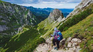 Karpaty - szlaki. Zdjęcie ilustracyjne