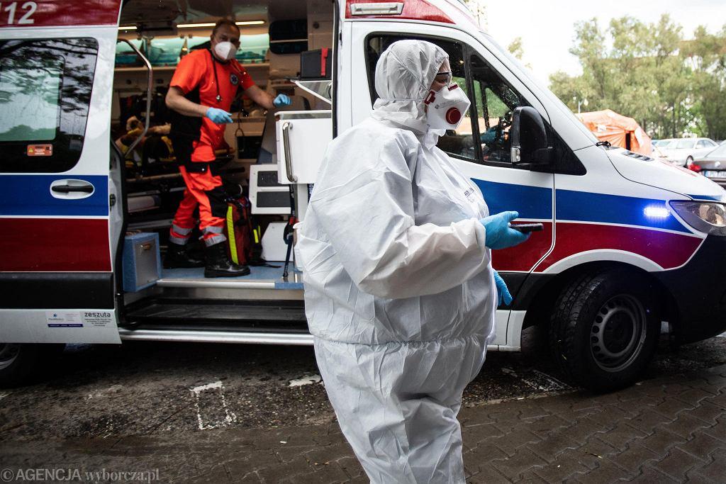 Pandemia koronawirusa.