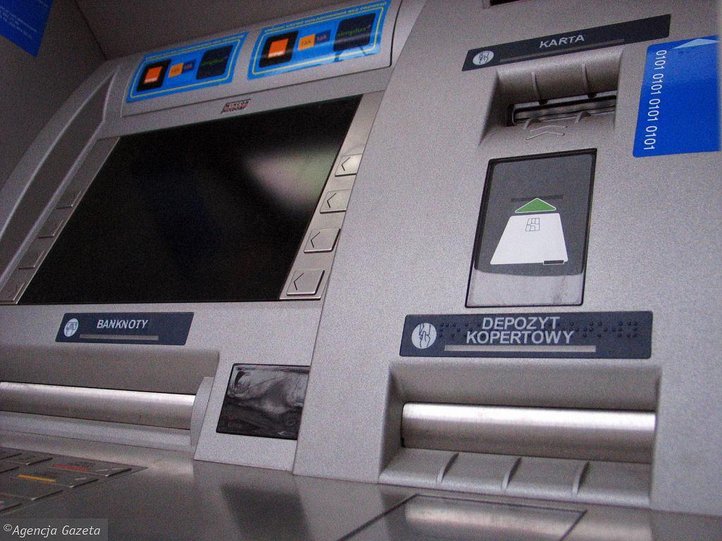 Bankomat (zdjęcie ilustracyjne)