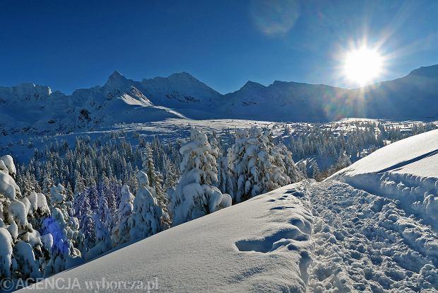 Zdjęcie numer 37 w galerii - Słońce, śnieg i szczyty. Piękna pogoda w Tatrach, zachwycające widoki