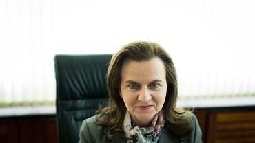 Prezes ZUS Gertruda Uścińska.