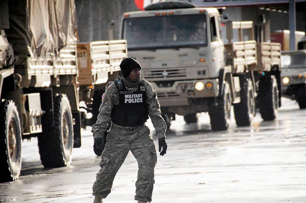 Dolny Śląsk. Amerykańskie wojsko zgubiło amunicją na autostradzie A4 / zdjęcie ilustracyjne