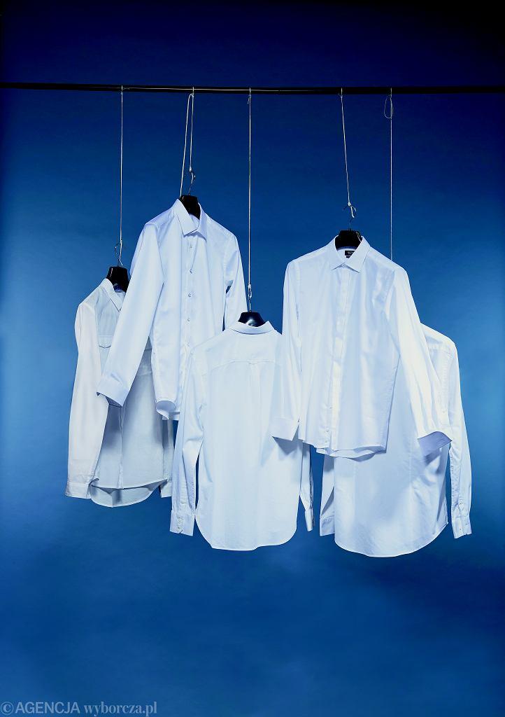 Redakcyjny test białych koszul