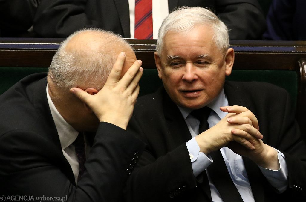 Prezes Jarosław Kaczyński w Sejmie
