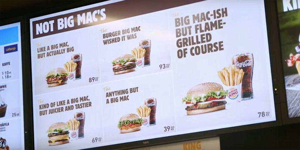 Kampania sieci Burger King