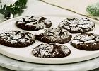 """Czekoladowe ciasteczka """"Chocolate Crinkles"""", czyli popękane słodkie szaleństwo"""