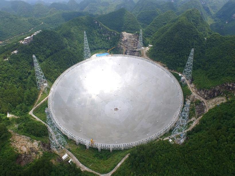Teleskop FAST w Chinach