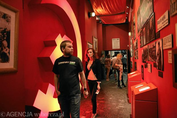Noc Muzeów 2017 w Muzeum Powstania Warszawskiego.