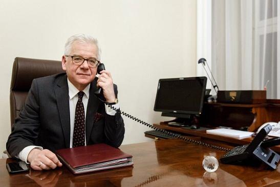 Jacek Czaputowicz rozmawiał z amerykańskim sekretarzem stanu