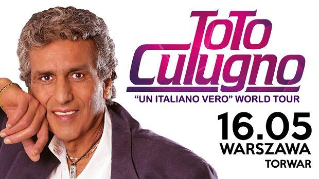Toto Cutugno na koncercie w Warszawie