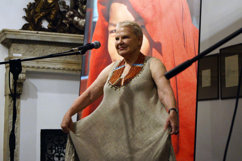 Elżbieta Dzikowska w 2012 roku (fot. Anna Kraśko / AG)