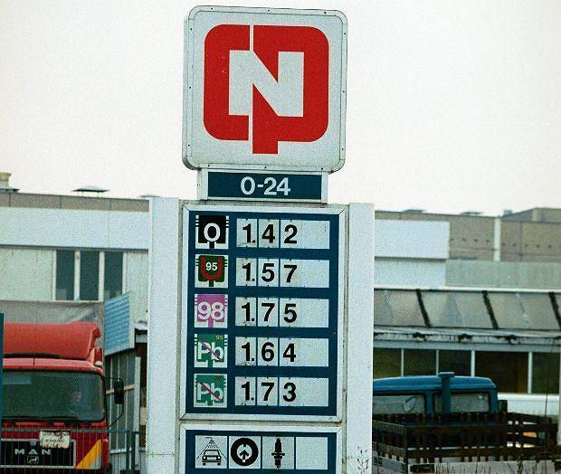 Stacja paliw CPN w Warszawie