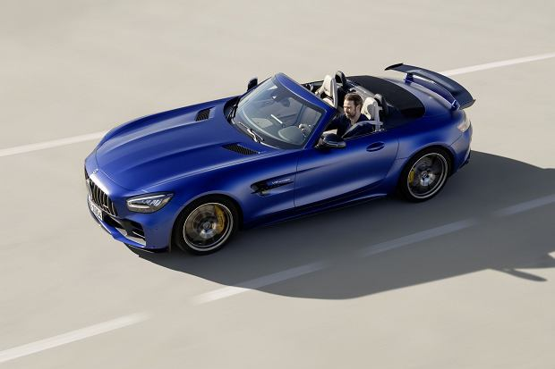 Mercedes-AMG GT R Roadster - powstanie tylko 750 sztuk
