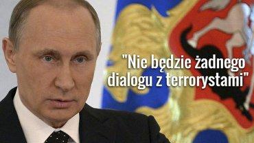 Władimir Putin przemawiał w rosyjskim parlamencie.