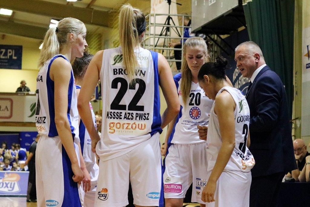 Tauron Basket Liga Kobiet: KSSSE AZS PWSZ Gorzów - Energa Toruń 45:67 (10:19, 13:22, 11:16, 11:10)