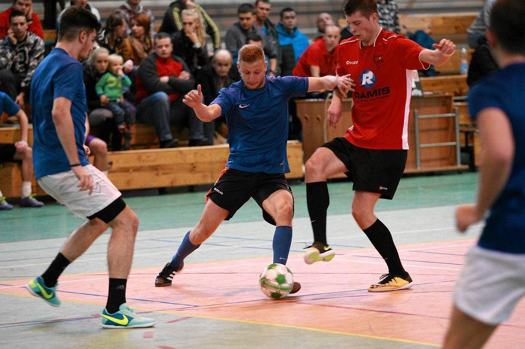 Turniej piłki nożnej halowej